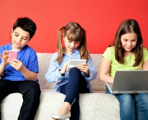 kids mobile overuse