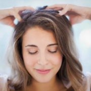 thin hair treatment head massage